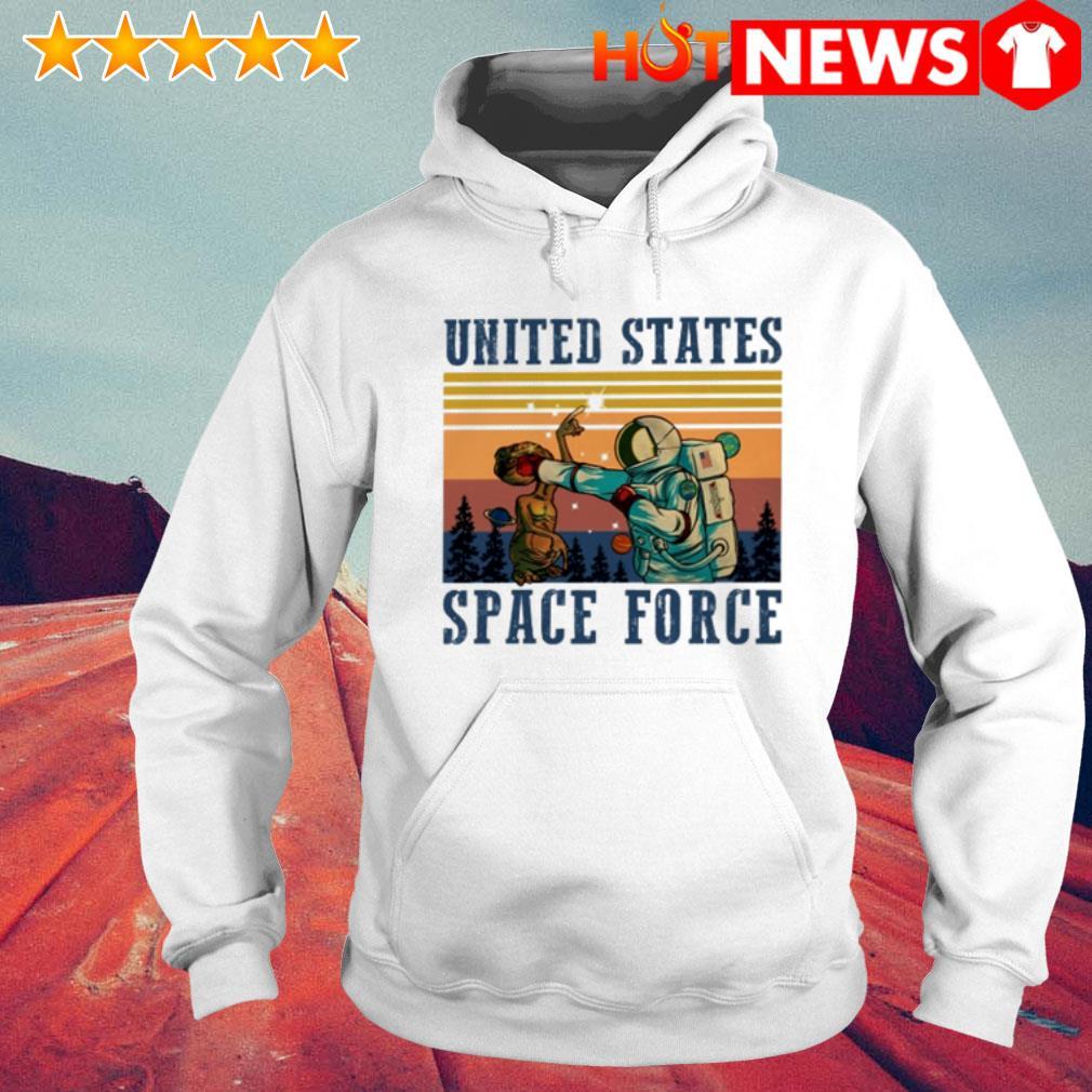 Vintage Science United States space force Hoodie