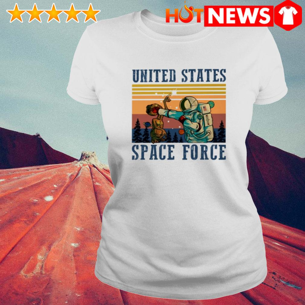 Vintage Science United States space force Ladies Tee