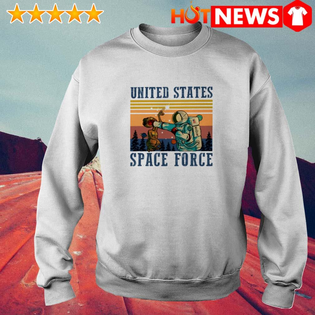 Vintage Science United States space force Sweater