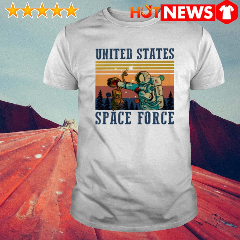 Vintage Science United States space force shirt