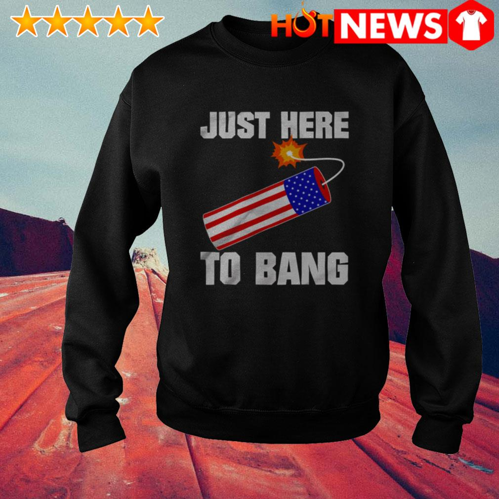 4th Of July independence day just here to bang Sweater