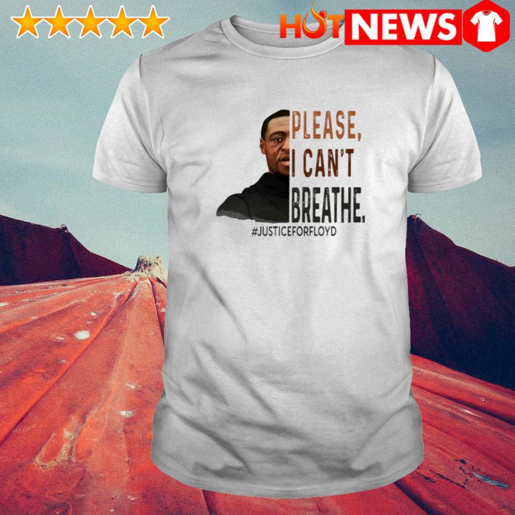 Death of George Floyd please I can't breathe #justiceforfloyd shirt