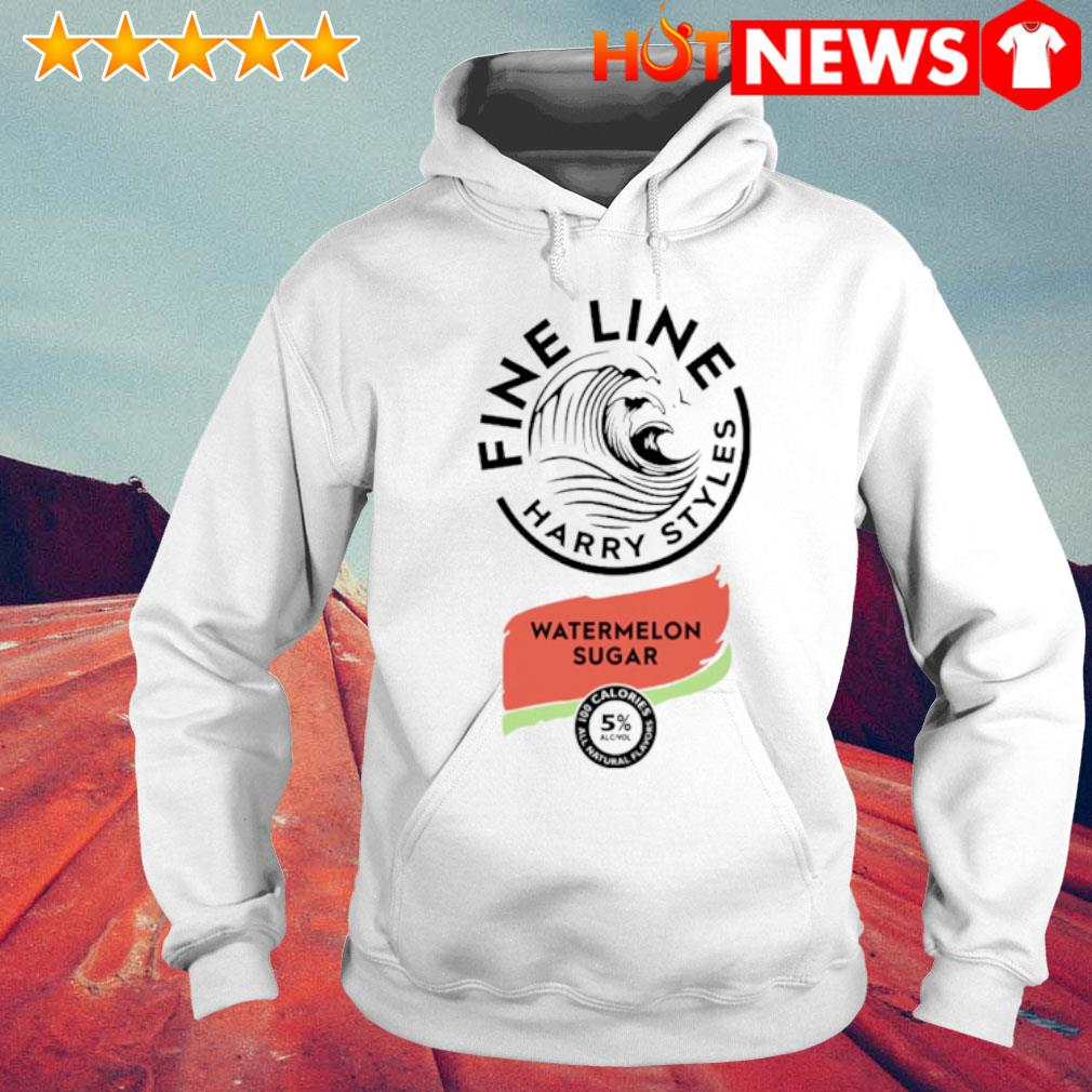 Fine line harry styles watermelon sugar s 6 HNT Hoodie White