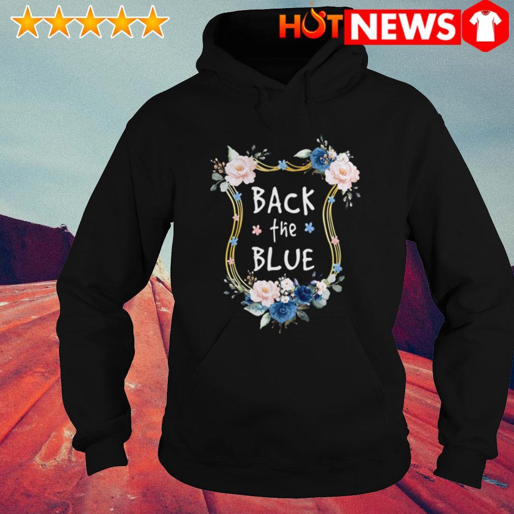 Gary Moore Back the blues Flowers Hoodie