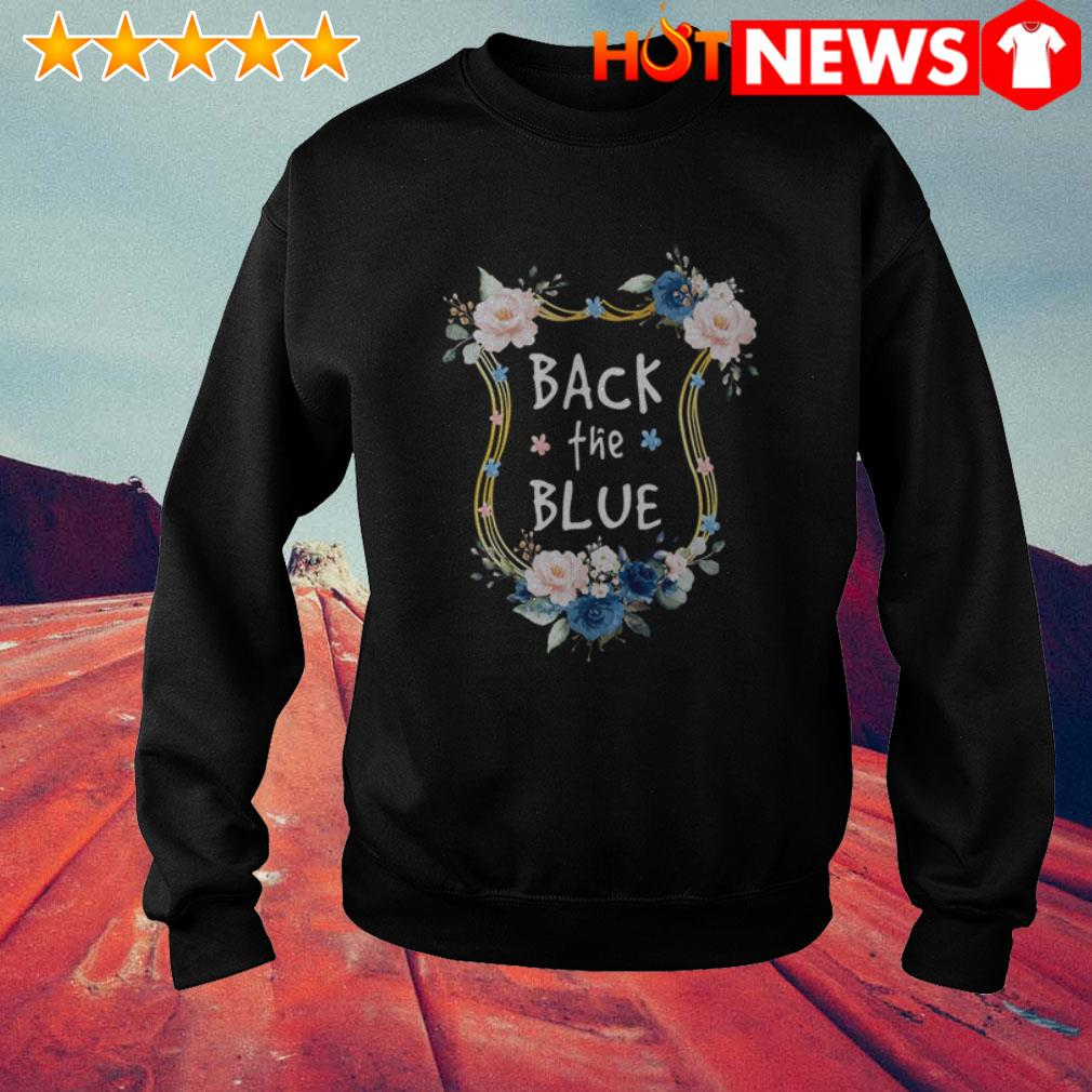 Gary Moore Back the blues Flowers Sweater