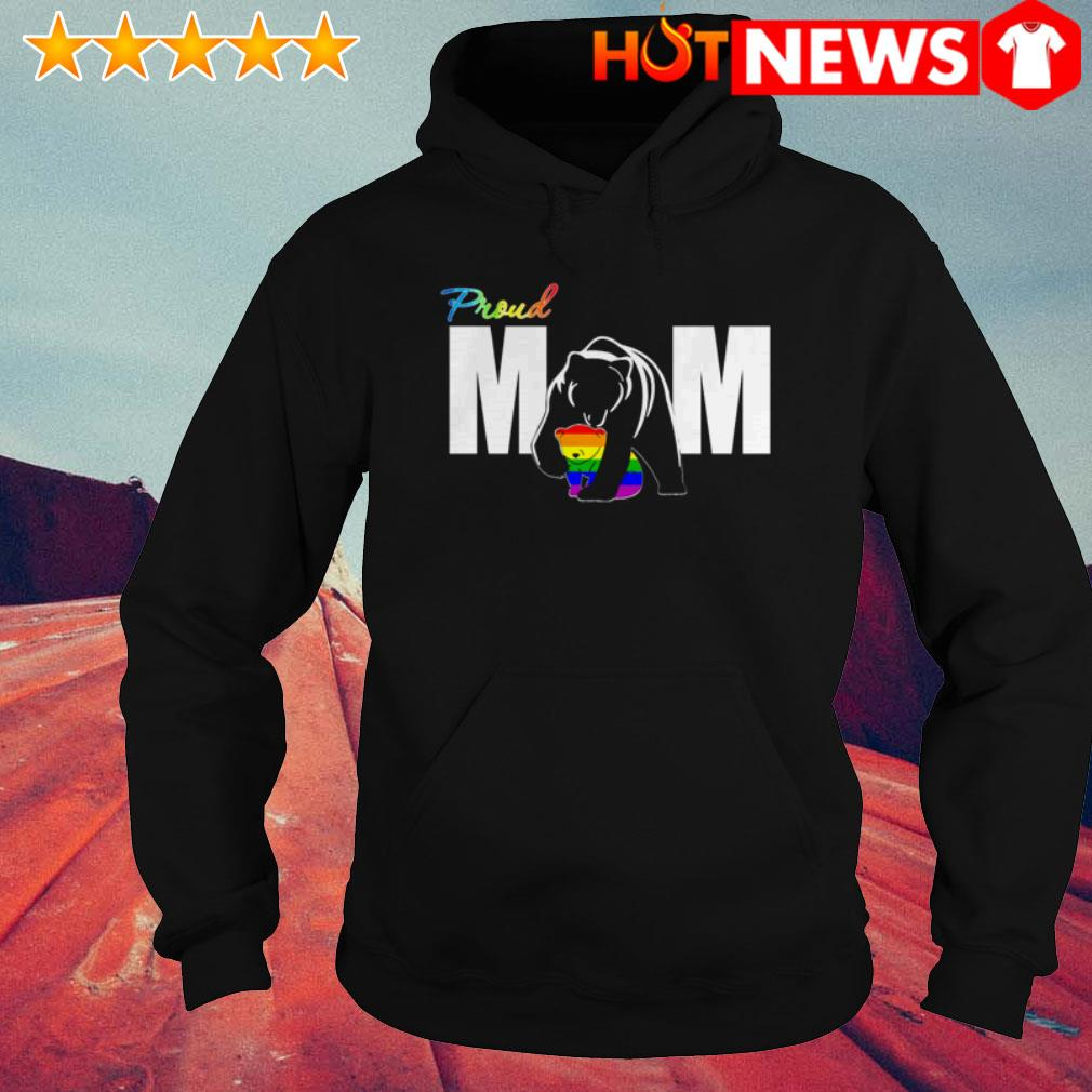 LGBT Bear Proud mom Mother's day Hoodie