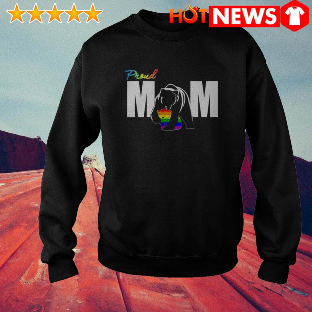 LGBT Bear Proud mom Mother's day Sweater
