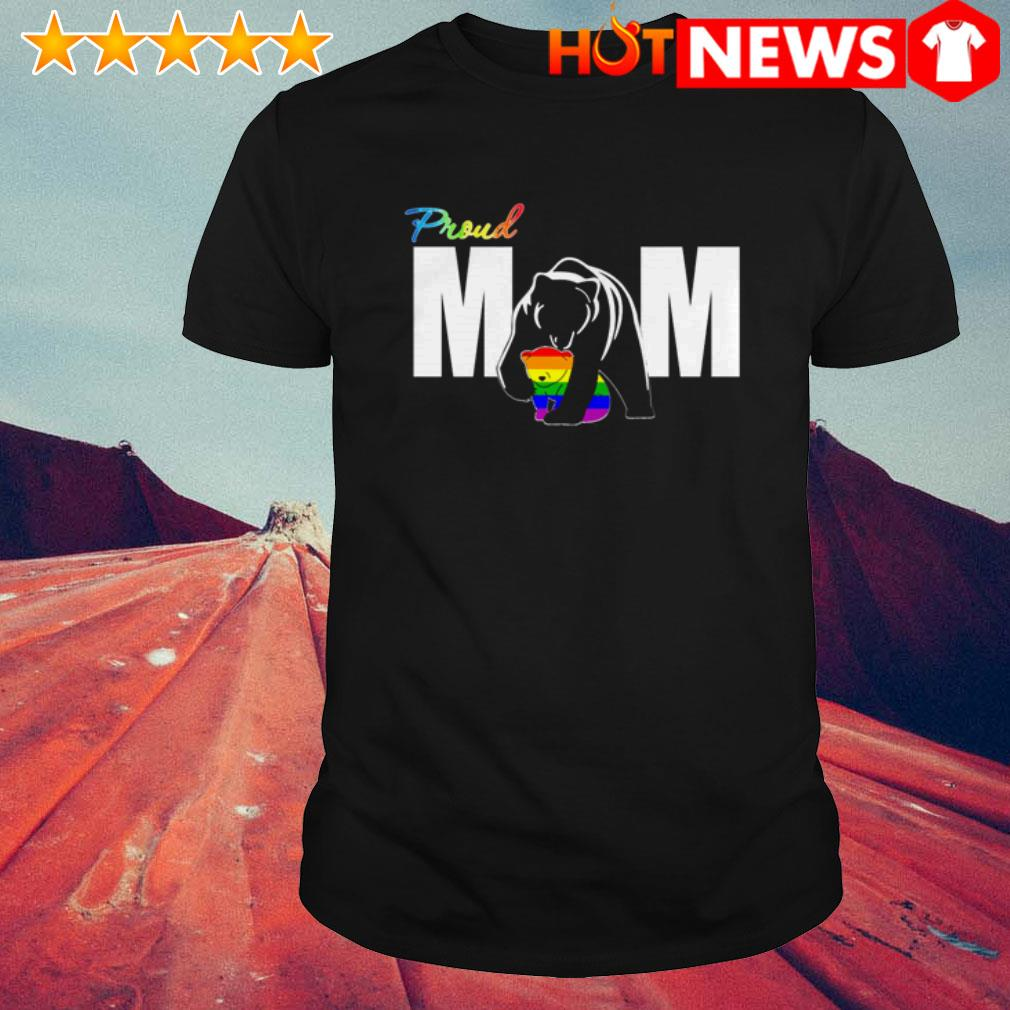 LGBT Bear Proud mom Mother's day shirt