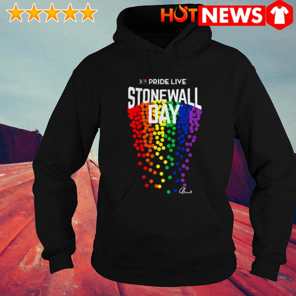LGBT Gay Pride live stonewall day Hoodie