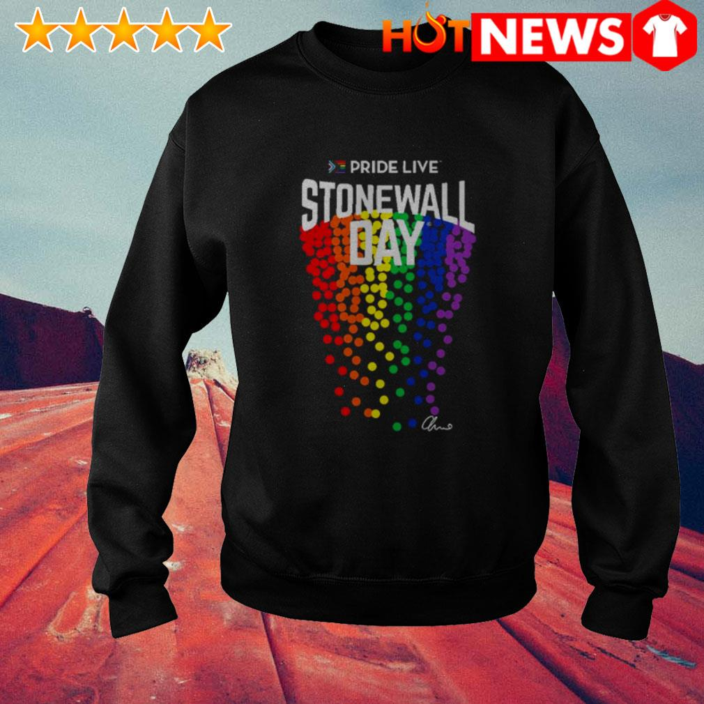 LGBT Gay Pride live stonewall day Sweater
