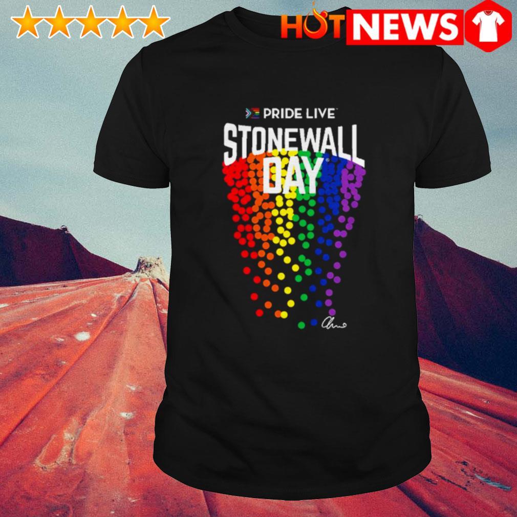 LGBT Gay Pride live stonewall day shirt