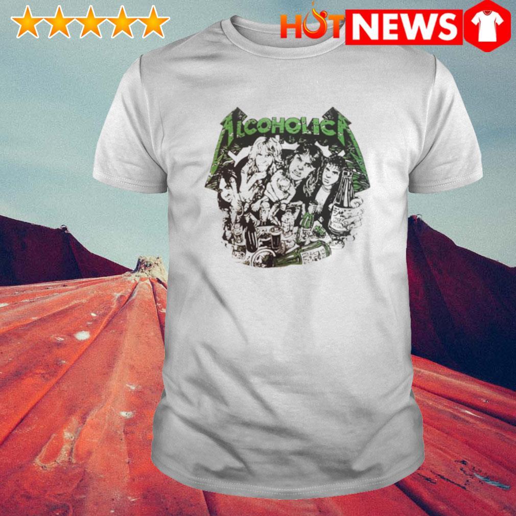 Metallica Alcoholica shirt