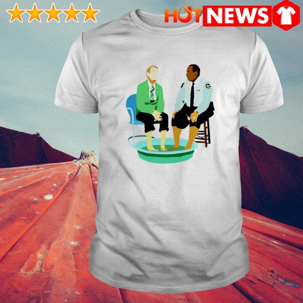 Mister Rogers' Neighborhood Fred Rogers gay police shirt