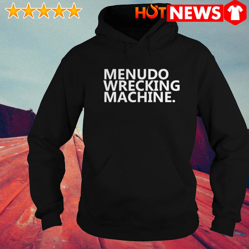 Official Menudo Wrecking Machine Hoodie