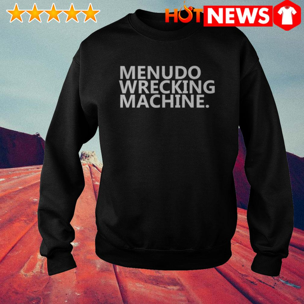 Official Menudo Wrecking Machine Sweater