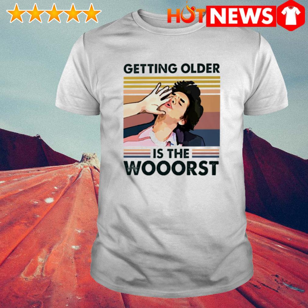 Parks Jean Ralphio getting older is the wooorst vintage shirt