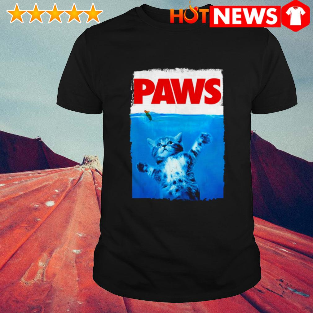 Paws cat and mouse top cute cat shirt