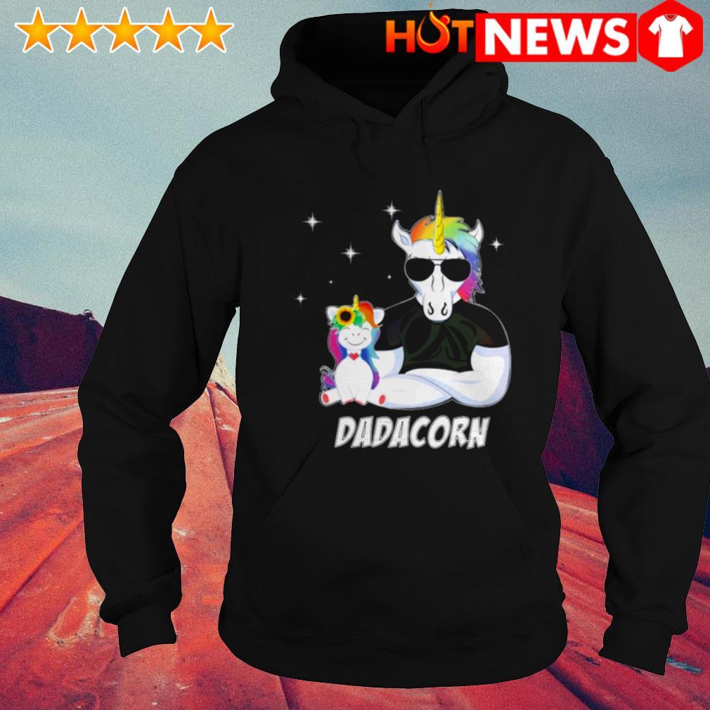 Unicorn Dadacorn Father's day Hoodie