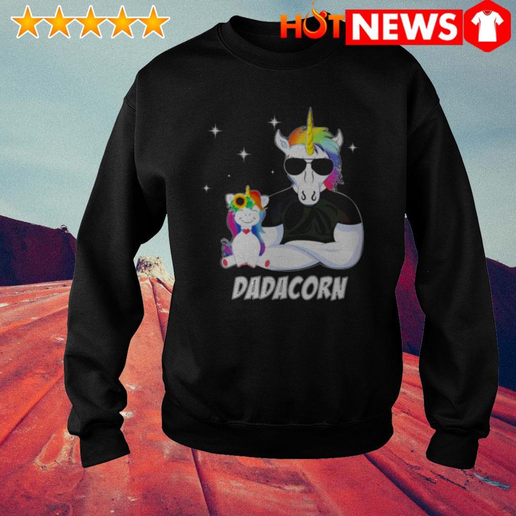 Unicorn Dadacorn Father's day Sweater