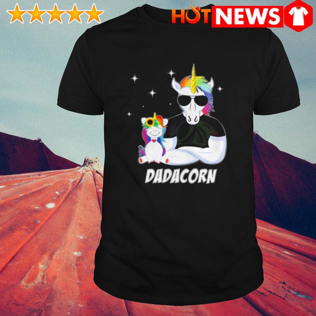 Unicorn Dadacorn Father's day shirt