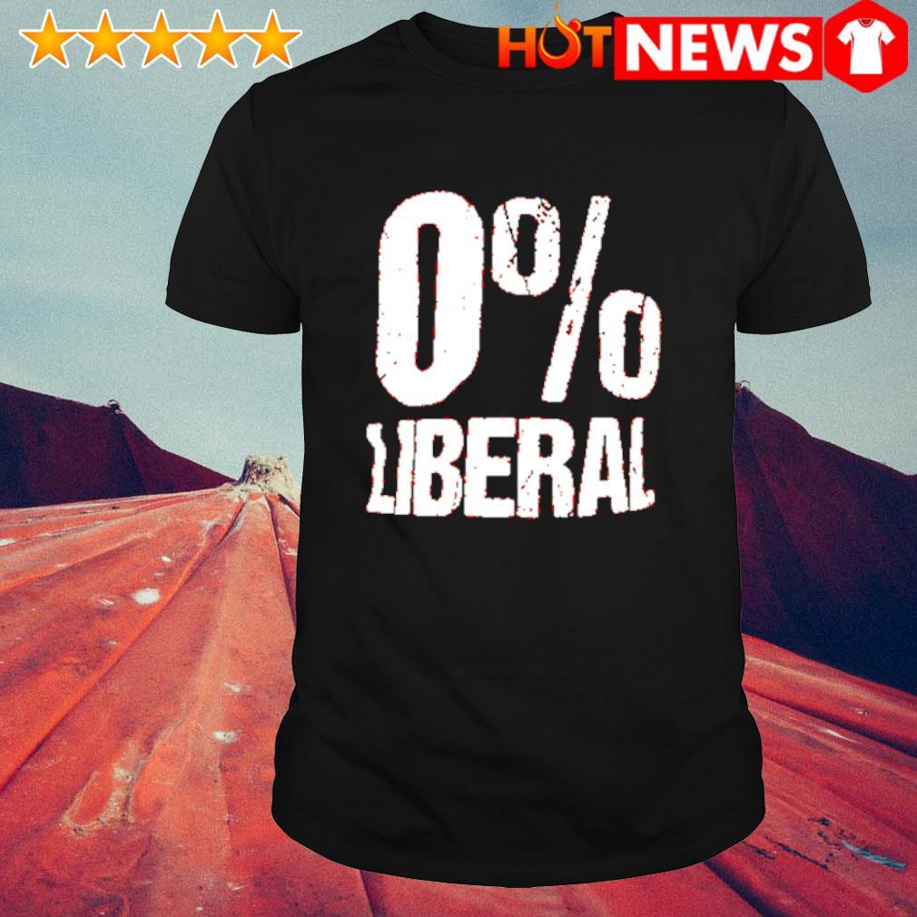 0% Liberal shirt