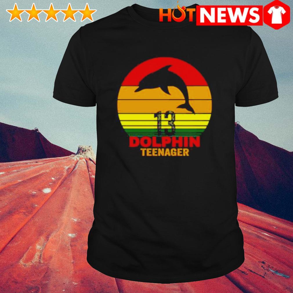 13 Dolphin teenager vintage shirt