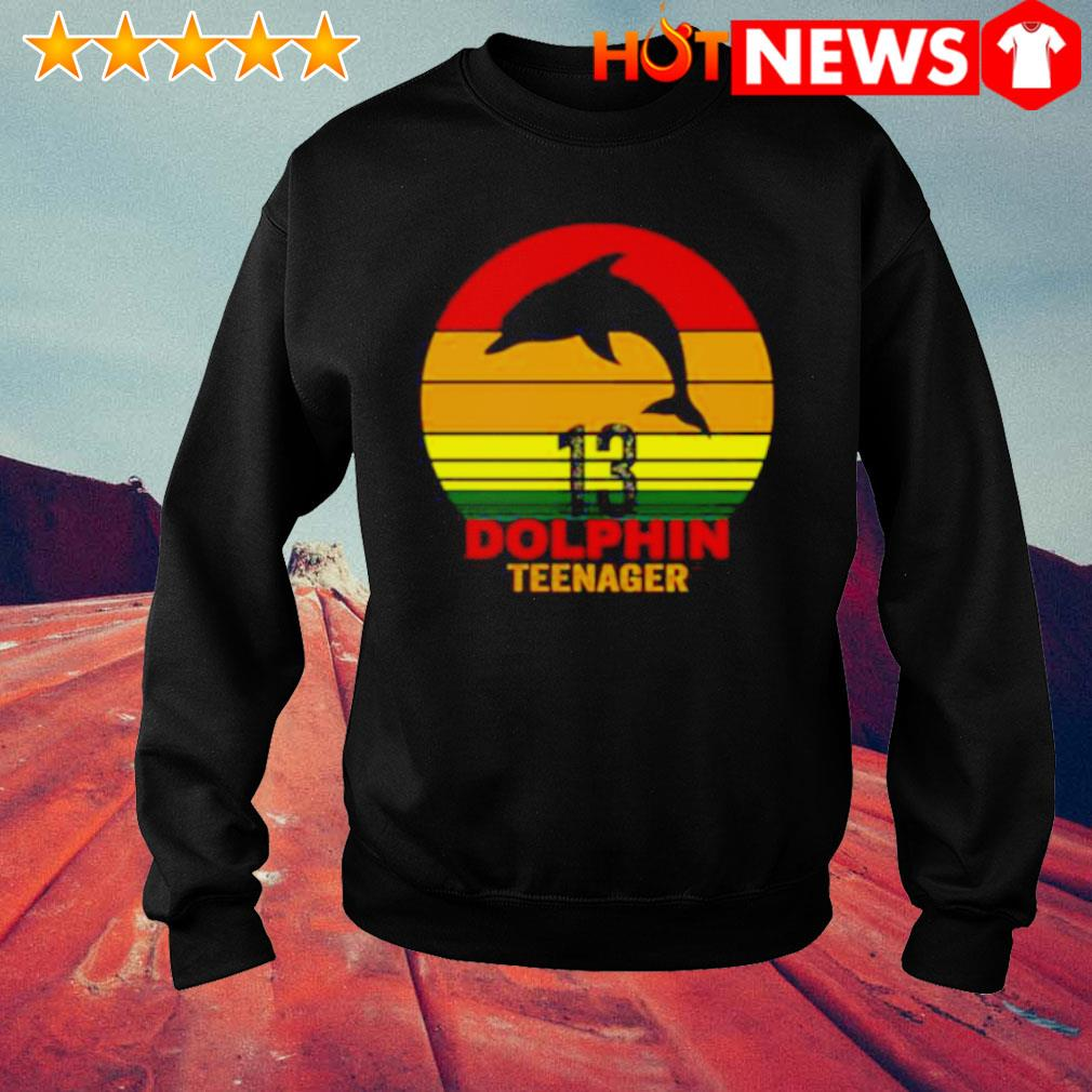 13 Dolphin teenager vintage s sweater