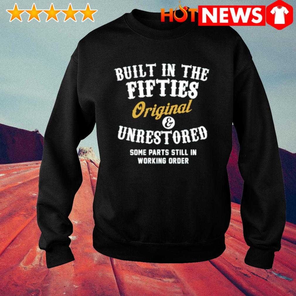 Built in the fifties Original and unrestored some parts still in working order s sweater