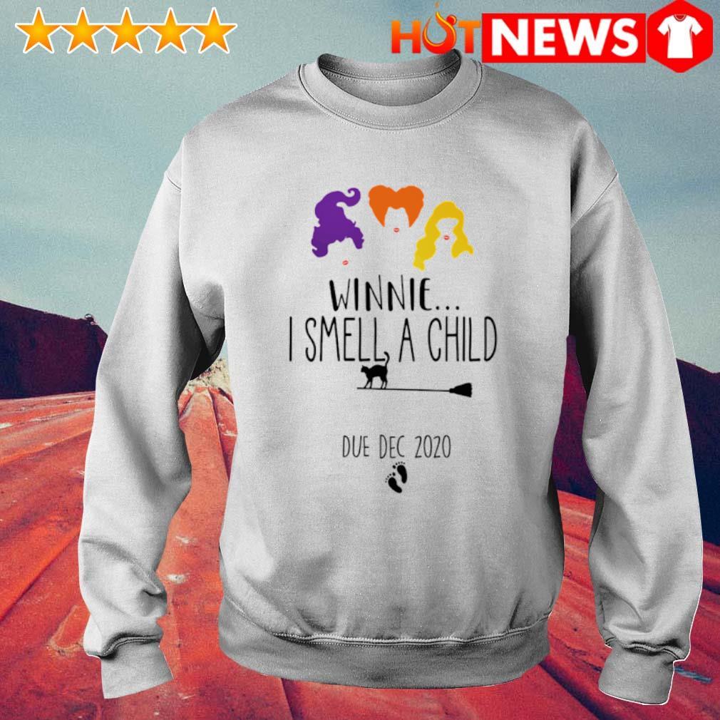 Hocus Pocus winnie I smell a child due dec 2020 s 6 HNT Sweat White