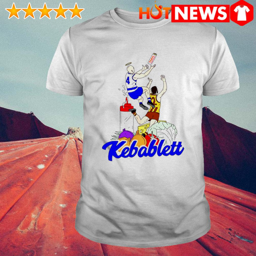 The Carlton Draft Jnr Kebablett shirt