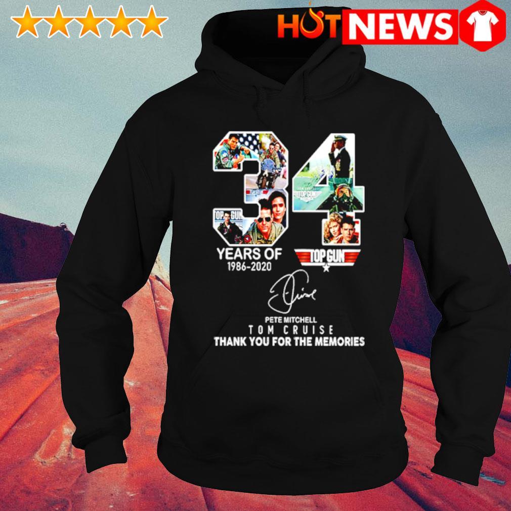 34 years of Top Gun 1986 2020 Tom Cruise s hoodie
