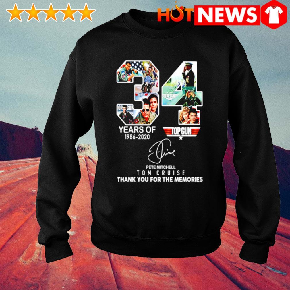 34 years of Top Gun 1986 2020 Tom Cruise s sweater