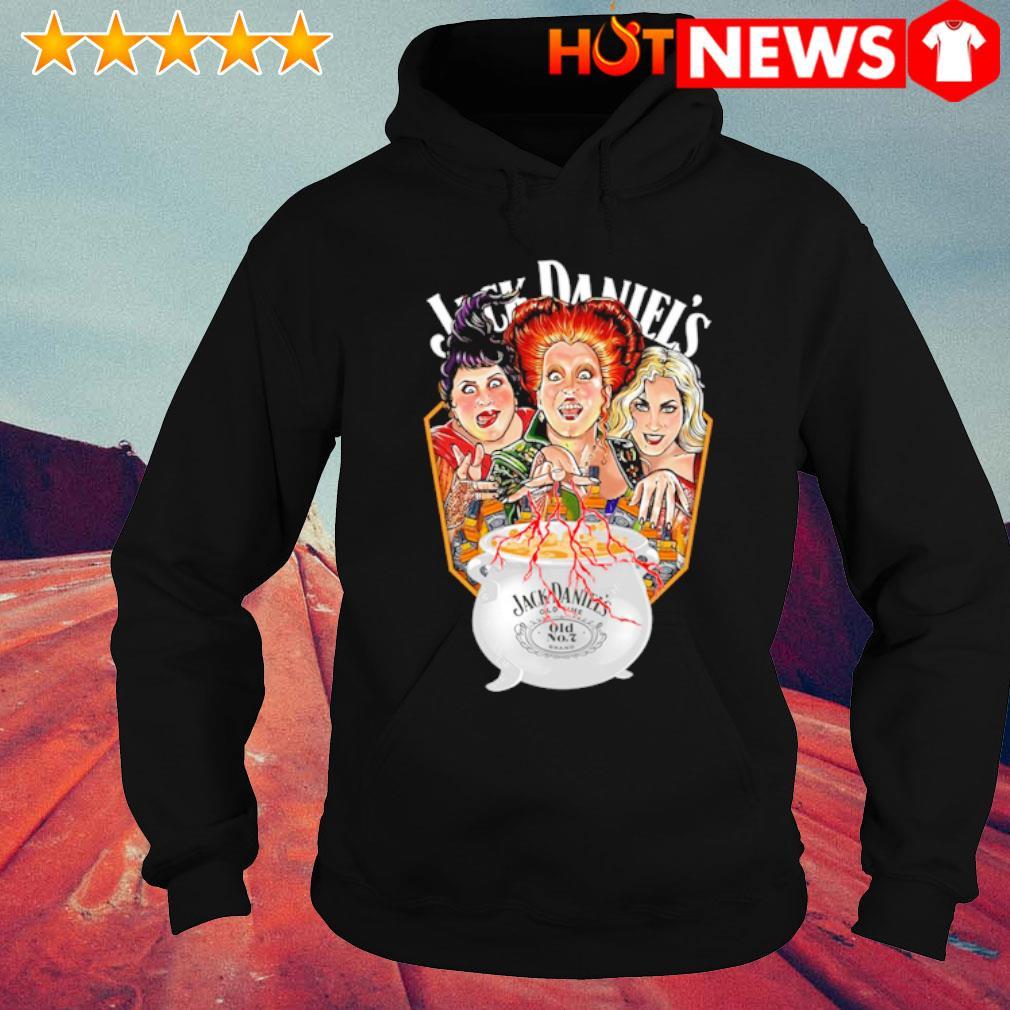 Hocus Pocus cooking Jack Daniel's s hoodie