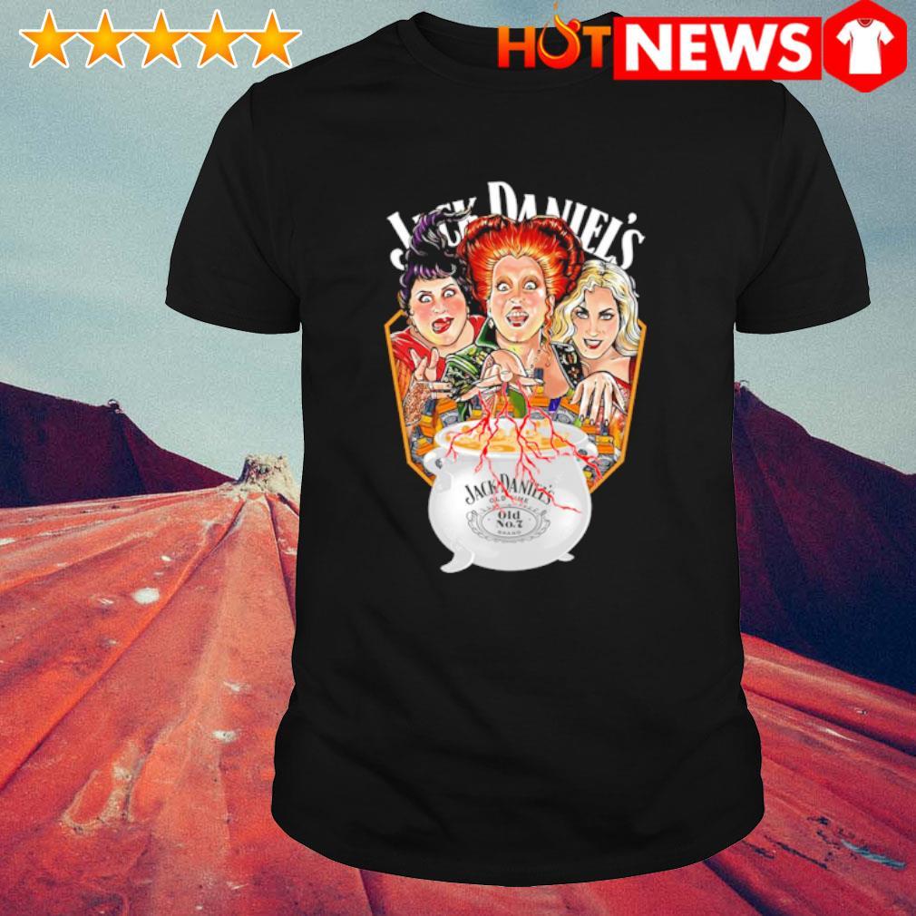 Hocus Pocus cooking Jack Daniel's shirt