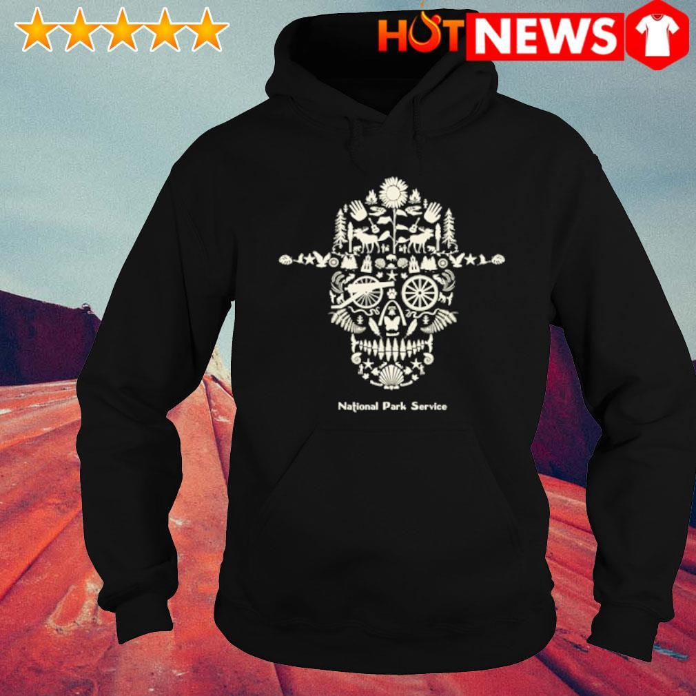 Skull National Park service s hoodie