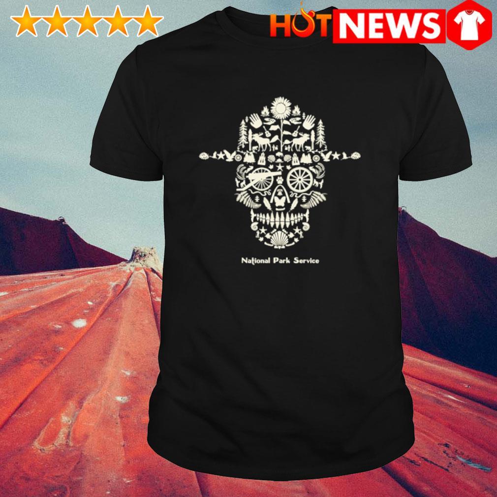 Skull National Park service shirt
