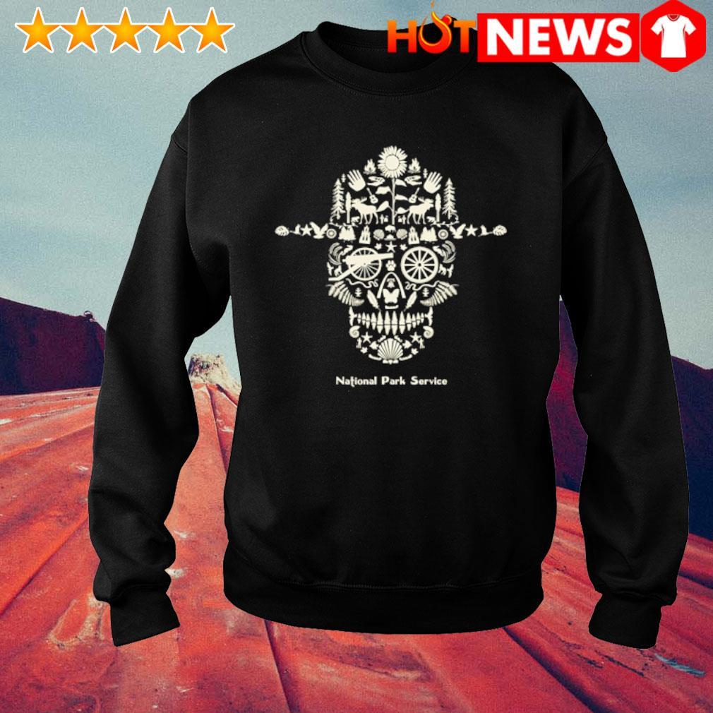 Skull National Park service s sweater