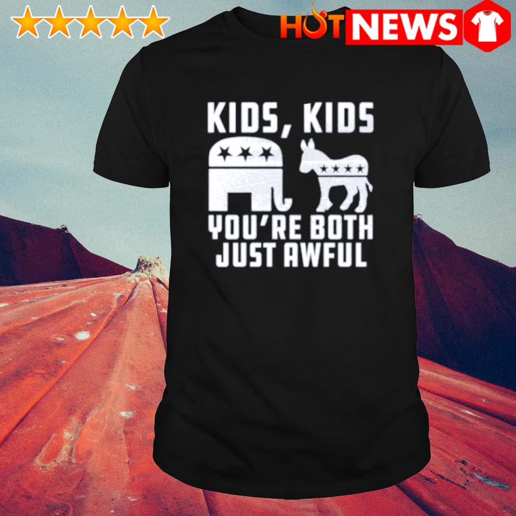 Trump and Biden kids you're both just awful shirt