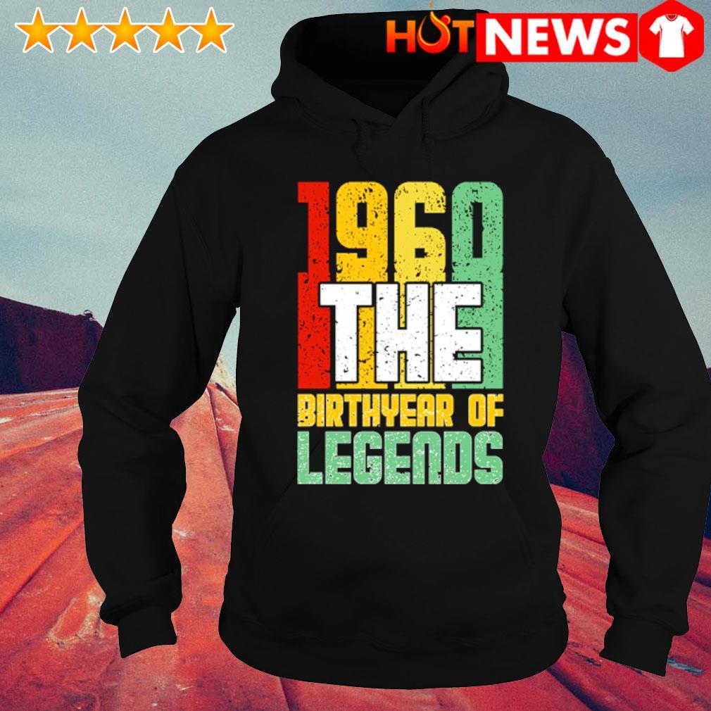 1960 the birth year of legends vintage s hoodie