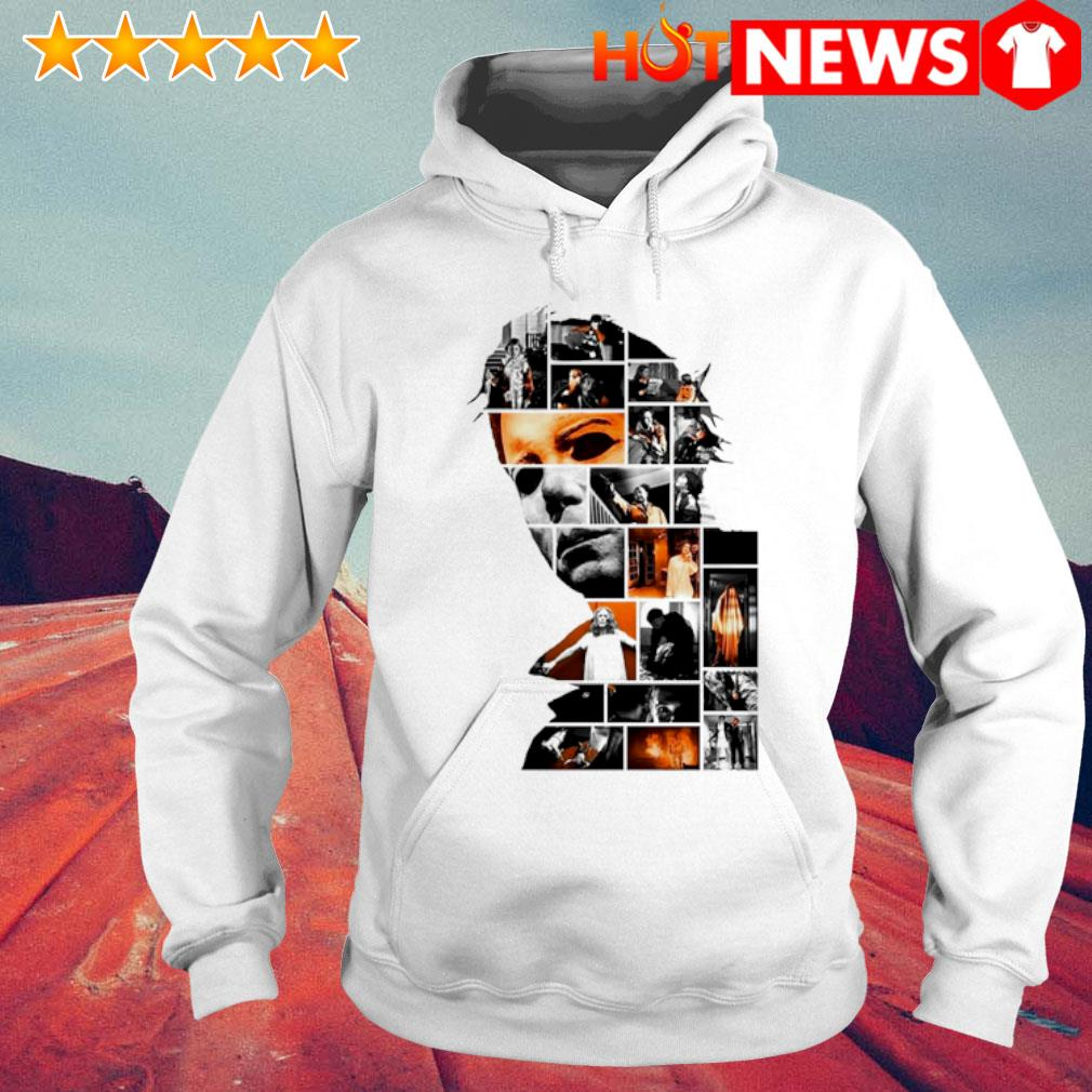 All characters make Michael Myers on seri Halloween film s 6 HNT Hoodie White
