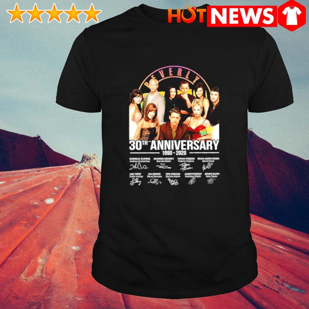 Beverly 30th Anniversary 1990 2020 signature shirt