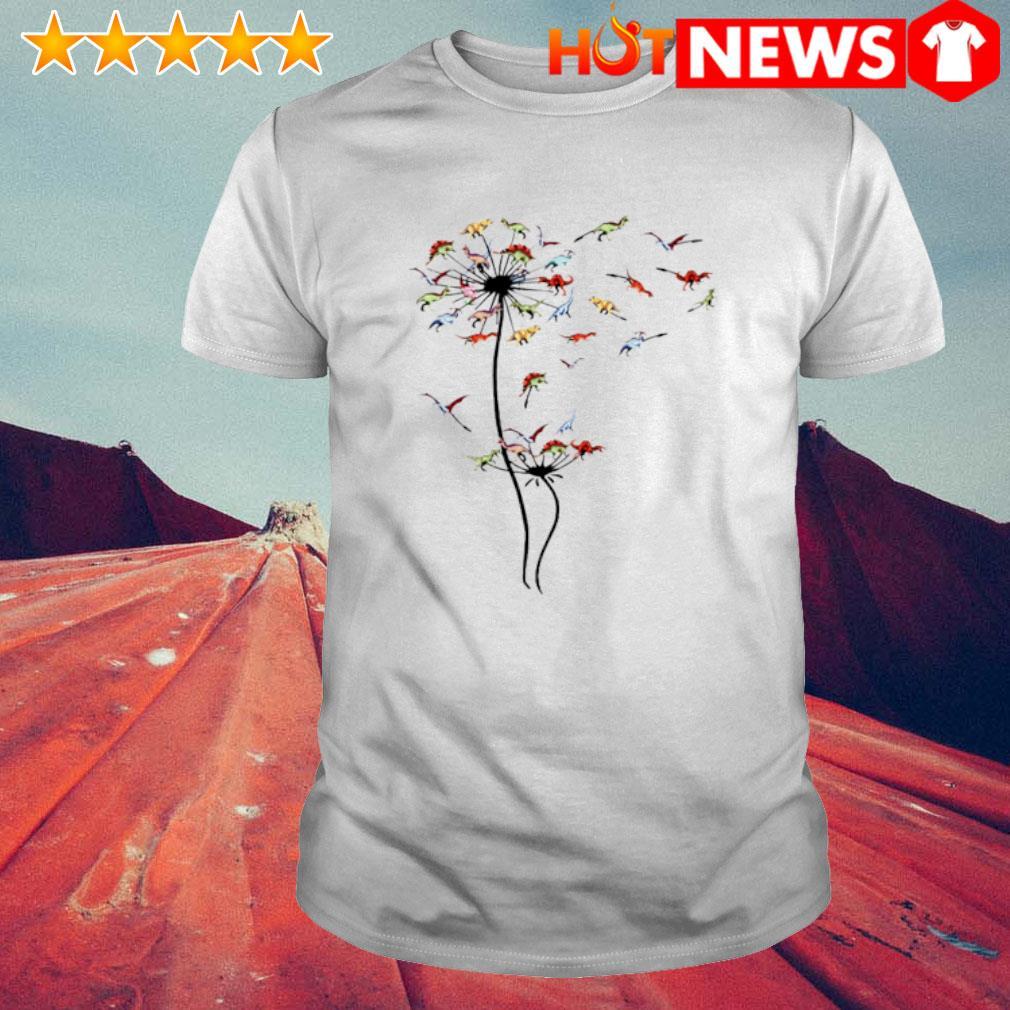 Dinosaur dandelion shirt