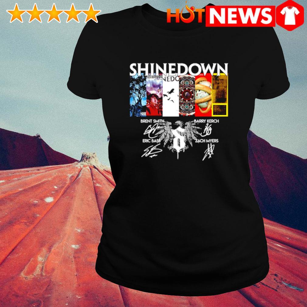 Shinedown 19th Anniversary 2001 2020 signature s ladies-tee