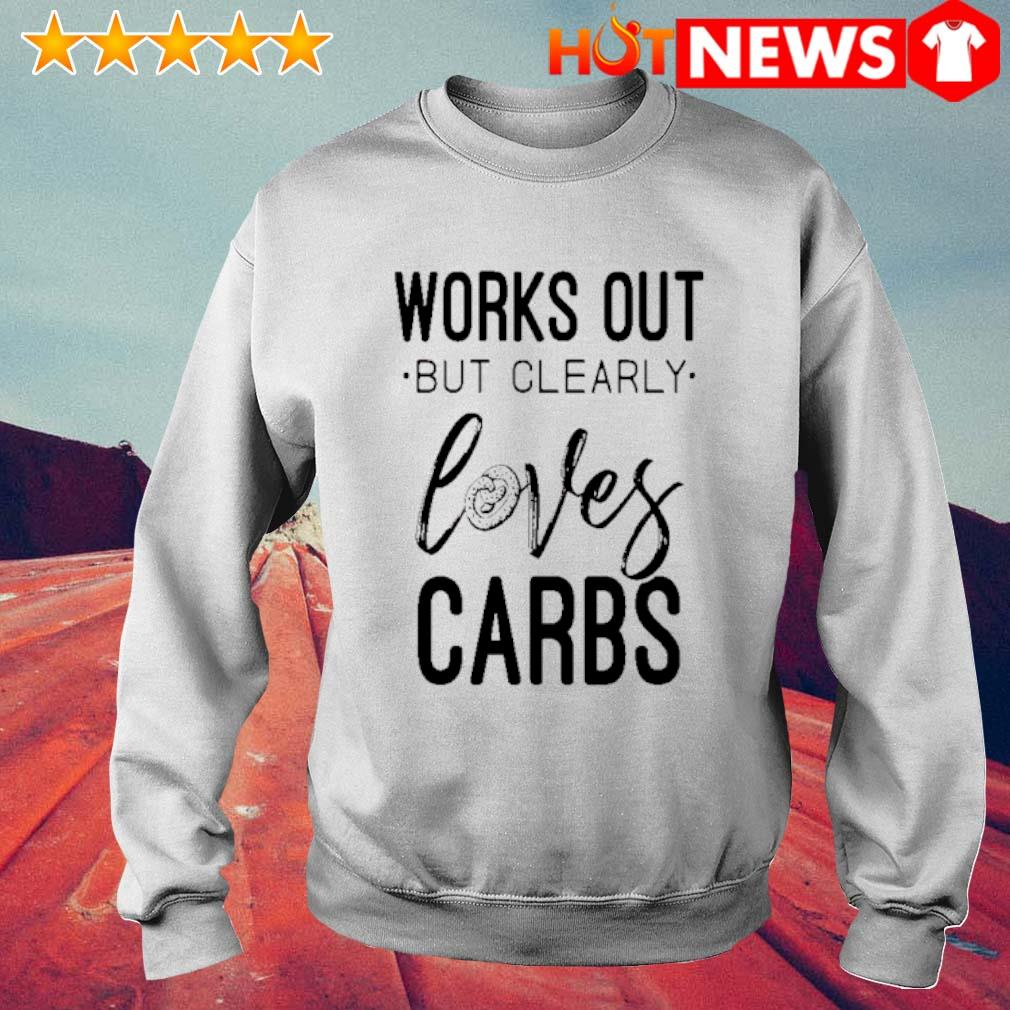 Works out but clearly loves carbs s 6 HNT Sweat White