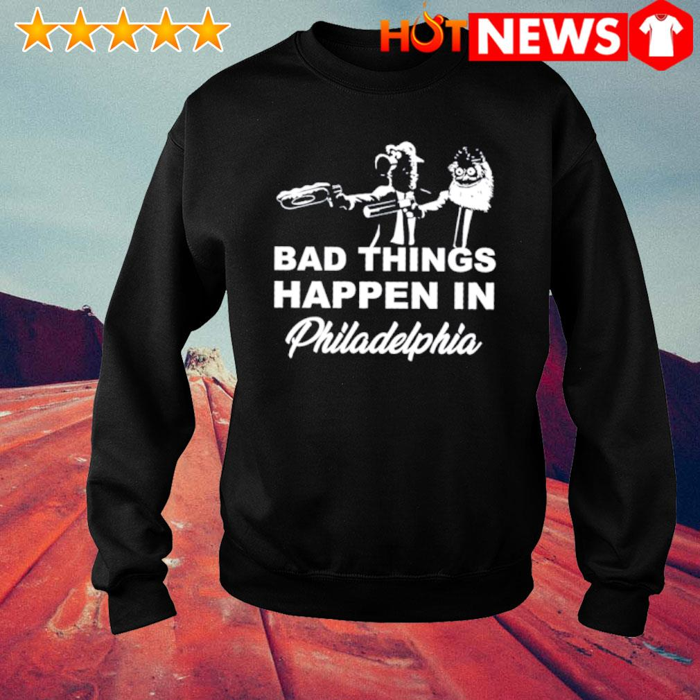 Gritty and Phanatic bad things happen in Philadelphia s sweater