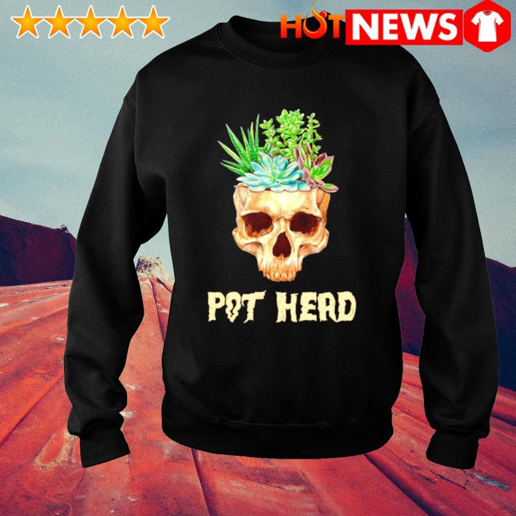 Skull Cactus pot head s sweater