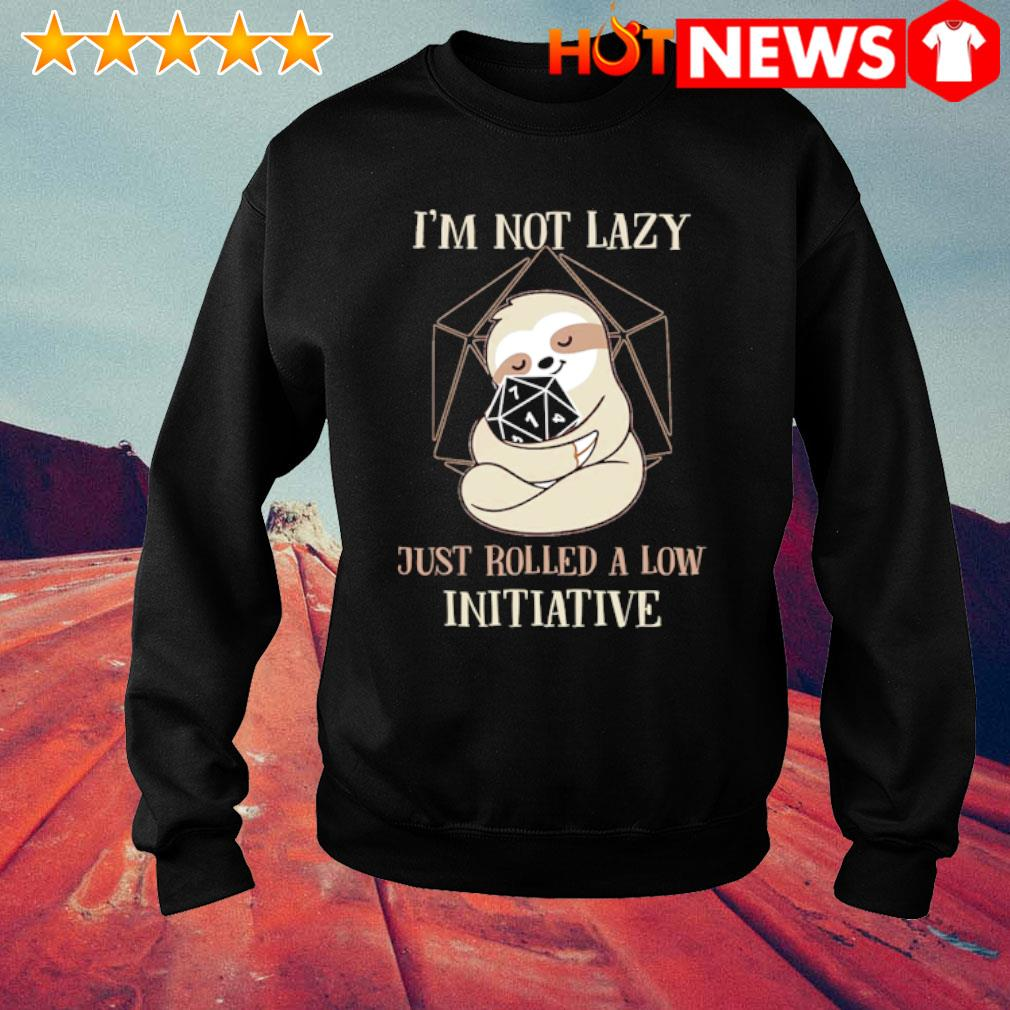 Sloth Dungeon Master I'm not lazy just rolled a low initiative s sweater