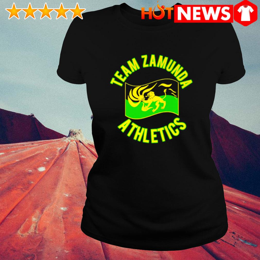 Team zamunda athletics s ladies-tee