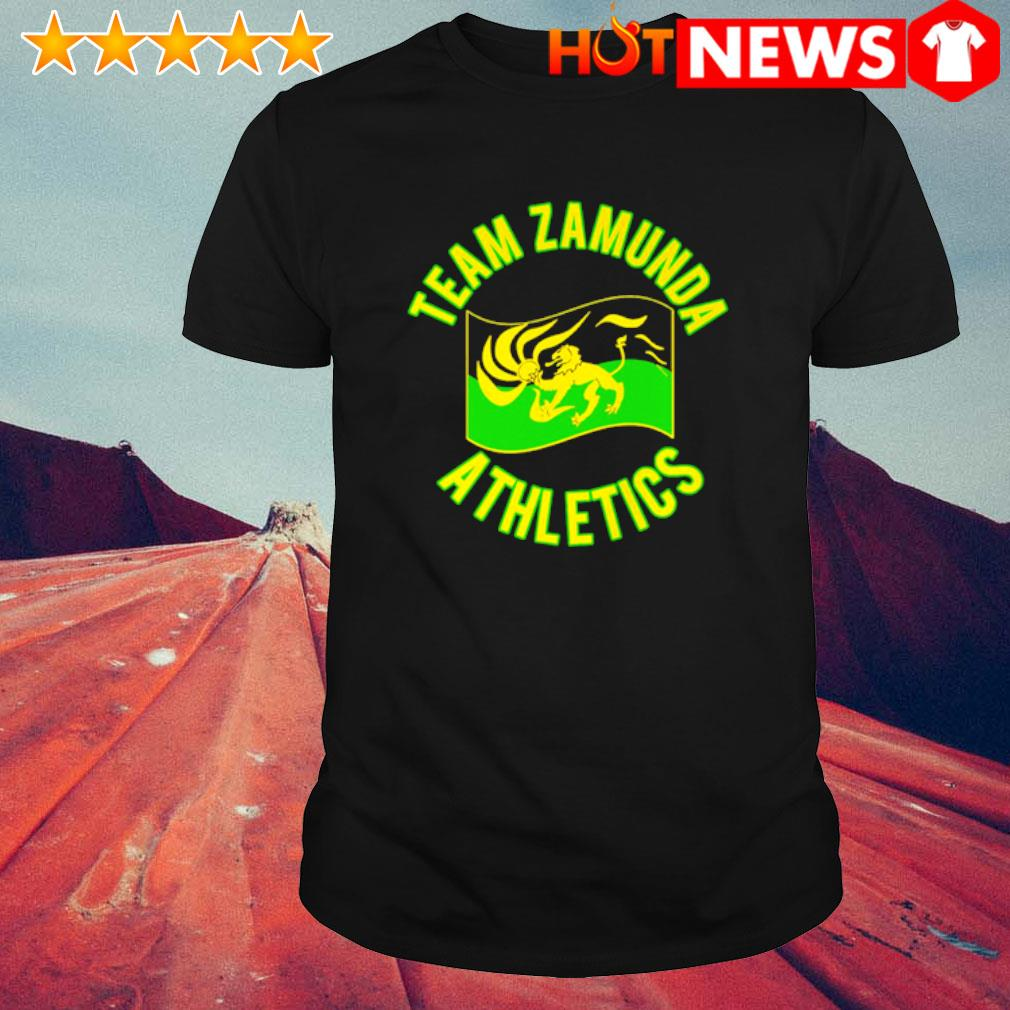Team zamunda athletics shirt