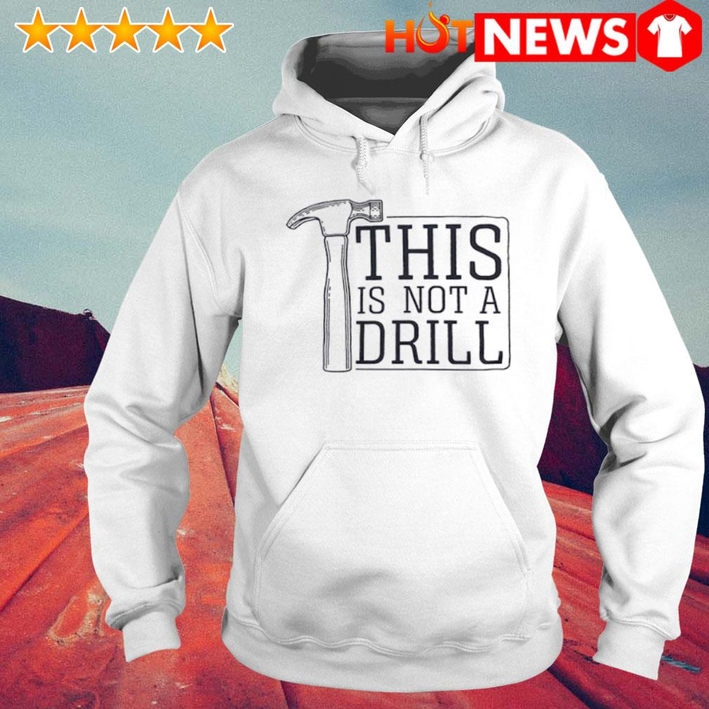 This is not a drill s 6 HNT Hoodie White